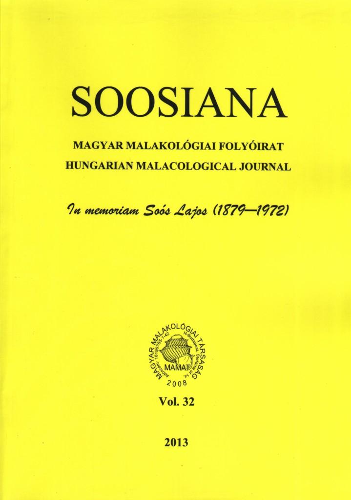 Soosiana 32 címoldal